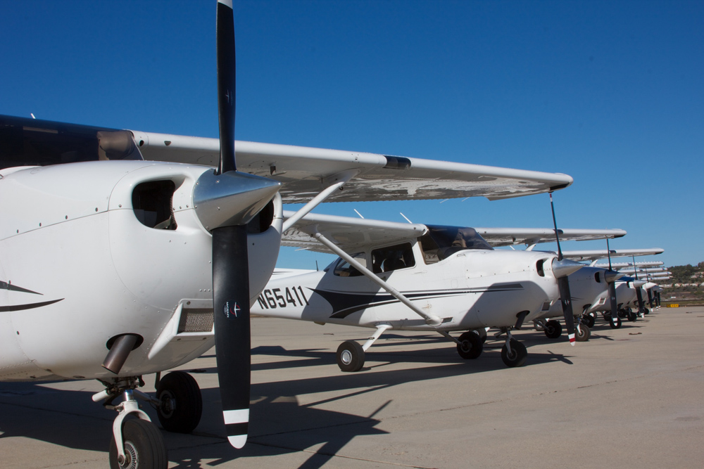 Channel Islands Flights School Fleet